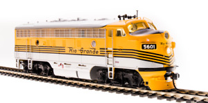 BROADWAY LIMITED IMPORTS 4854 D&RGW EMD F7 DIESEL LOCOMOTIVE 5604