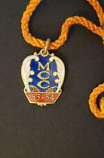 Cricket - Vintage - 1953 - MCC - Melbourne Cricket Club Member's Badge w/ Cord