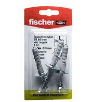 Fischer tasselli in nylon SB 9/5 con vite doppia 4PZ x tutte le murature 504445