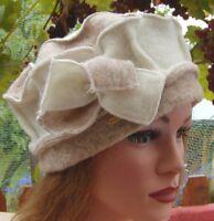 Cappello da donna Berretto di lana MC Burn In hellbeigetöne inverno autunno