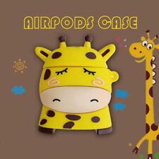 Lovely Giraffe Style Protective Case Silicone Cover for Airpods Accessories