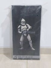 EMS 1/6 scale Sideshow Star Wars Clone Trooper Deluxe Veteran