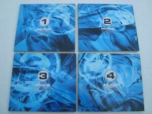 MARC BEAN 4CD--SET: ELECTRONIC BASICS-FINE SELECETION- Promo Alben -ELECTRONICA