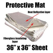 Tapete De Fibra De Vidro isolante Aluminizado Abafador Tampa Tubo Protetor envoltório Cobertor