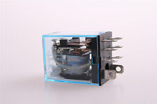 New LY2N-J 110V DC Coil Power Relay DPDT 8Pin JQX-13F2Z HH62P