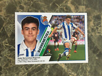 2019/20 PANINI LIGA ESTE ANDER BARRENETXEA ROOKIE STICKER REAL SOCIEDAD