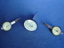 Lot 3 Federal Testmaster Dial Test Indicator T 1 T 2 T 106 Swiss Machinist Tool