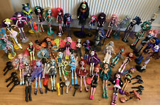Monster high dolls big bundle 40 Dolls Stands Brushes Lots Mix N Match Outfits