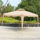 10' X 10' Waterproof Outdoor Gazebo Party Tent Easy Pop Up Canopy Tent with Bag