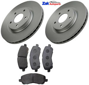Front Brake Discs and Pads Set FOR JEEP PATRIOT 2.0 2.2 2.4 07->12 MK74