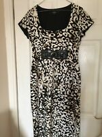 Star by Julien Macdonald animal print wiggle dress immaculate - Size 12