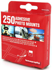 Lomography Adhesive Square Mounts (250 Pack) Photo Album Stickers.