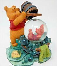 "VTG Disney POOH PIGLET ""Friends Help You/Splashy Part"" Ceramic FIGURINE FIGURE"