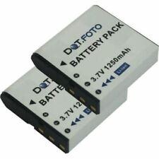 2 x Battery for Praktica C-NP40 - 1250mAh   Praktica DVC 5.10
