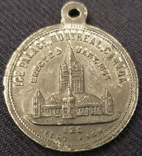 JANUARY, 1883 MONTREAL WINTER CARNIVAL INAUGURATION SOUVENIR MEDALLION ORIGINAL