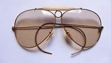 Vintage Ray Ban B&L USA Ambermatic Aviator Sunglasses