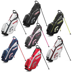 Callaway Mens Hyper Dry C Double Strap Golf Stand Carry Bag 4 Way Top NEW
