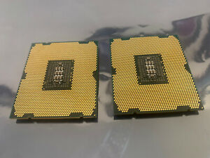 Matched pair of Intel Xeon E5-2630 6-core 2.3 GHZ SR0KV FCLGA2011 CPU's