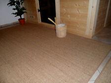 $$$ Sisalmatte Türmatte Bodenmatte Fußmatte für Haus + Sauna + Naturfaser  $$$