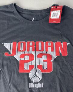 Nike Air Jordan 23 Flight TShirt NEW Jumpman Logo Spellout Big Man's 3XL Tall