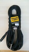YELLOW CABLE Cable Jack to Jack 10m ECO G610D (33ft) neuf