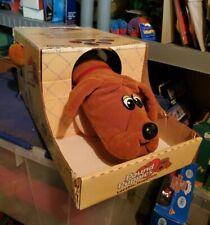 Vintage Pound Puppies light Brown  - Tonka 1985 MiB  Large Puppy