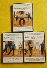 FallProof! Home Exercise Program Older Adults Seniors Strength Balance Training