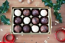 Handcrafted Boozy Chocolate Truffles