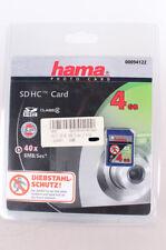 Hama Class 2 SDHC Secure Digital Speicherkarte 4 GB