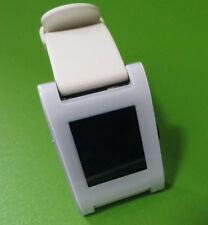 PEBBLE CLASSIC 301 SMARTWATCH  E-PAPER- WIhite Faulty