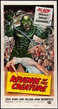 Revenge of The Creature  Three Sheet 1955  VF+ Graded (9) by MP Grading on linen