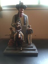 John Wayne 16� Tall Statue Bradford Exchange