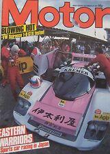 Motor magazine 29/12/1984 featuring Volkswagen Scirocco road test, Pontiac Fiero