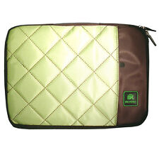 "Green 10"" Portable Soft Carry Case Bag for Ipad IBM Sony Dell Hp Laptop Netbook"