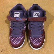 DC Shoes Jersey City SE Size 10 Woman's DK Purple BMX Skate Shoes Sneakers