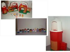 LOT Little People Fisher Price Farm Barn Animals & Sounds Figures - Princess