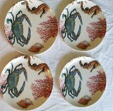 Sea Critters Melamine Dinner Plates, Set of 4 - Pottery Barn !!! NIB !