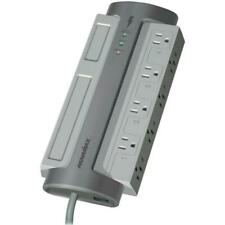Panamax M8-EX 8 Outlet Surge Protector 1650 Joules Gray