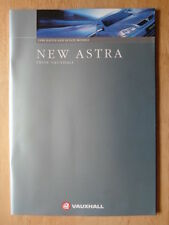 VAUXHALL ASTRA Range 1998 UK Mkt prestige sales brochure - Incl 1.8i 16v