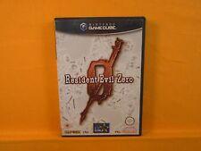gamecube RESIDENT EVIL ZERO 0 Survival Horror Nintendo PAL UK Version