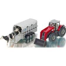 Tracteurs miniatures blancs sous boîte fermée