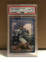 Derek Jeter 1998 Leaf State Reps #18 PSA 8 NM-MT New York Yankees