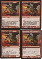 4 Engendro de bogardan Caballeros vs Dragones Hellkite bogardan x4 MTG Español