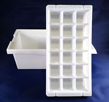 Brand New, Ice Cube Tray and Bin