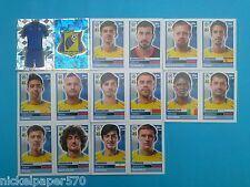 Topps Champions League 2016-17 2017 Team Rostov 2016 2017 completo