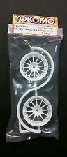 Team Yokomo 1:10 Scale  RC Drift wheels ENKEI Racing NT03 TW-3013 4mm