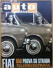 Auto Italiana - 1964 n° 29 - FIAT 850 prova su strada - meccanica corse