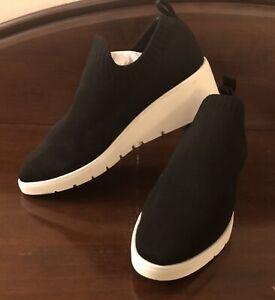 Steven By Steve Madden Women's Bell Black Fashion Sneaker Size 7.5 (1226897)