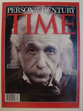ALBERT EINSTEIN PERSON OF THE CENTURY TIME COVER PAGE PHOTO NOT MAGAZINE