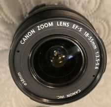Canon Zoom Lens EF-S 18-55mm f/3.5-5.6 IS II for Canon Digital SLR Camera